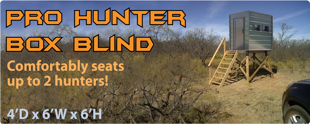 Deer Box Blinds For Sale http://lifetimedeerblinds.com/