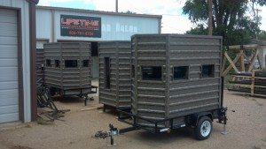 lifetime deer blind mobile blilnd