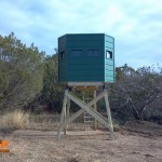 lifetime-deer-blinds-Pro-Hunter-2-Man-Hexagon-on-stand