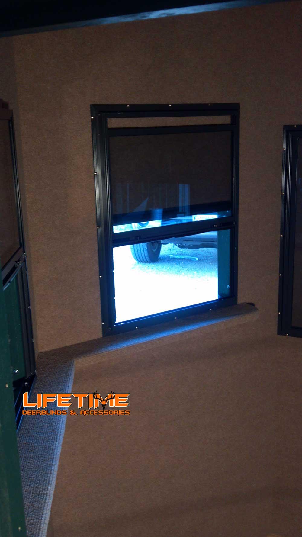 deer blind windows viewing gallery
